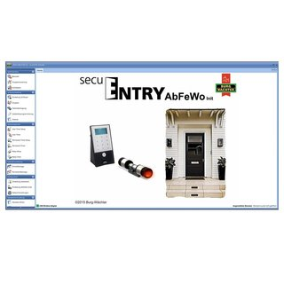 secuENTRY 7094 AbFeWo Software